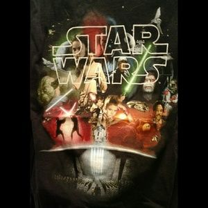Other - NWOT Star Wars montage shirt